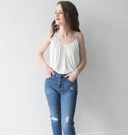 Nineteen HR Loose Destroy Ankle Jeans Length 32