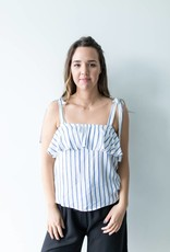 Cassandra Striped Tank
