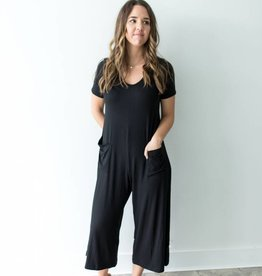 Loving People Cozy Down Jumpsuit
