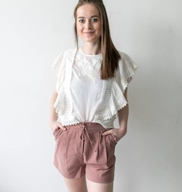 Flounce Shorts