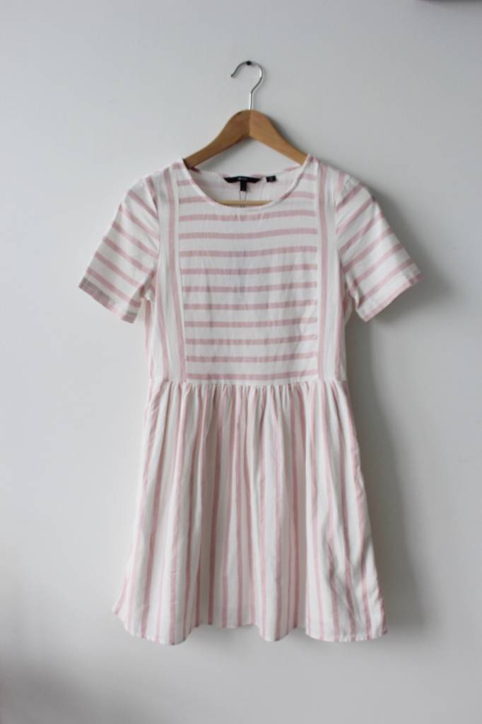 Sunny Stripy SS Short Dress