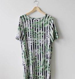 Nova Aop Lux Tee Dress