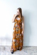 Cassia Halter Dress