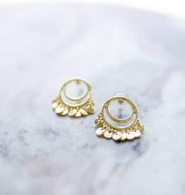 Topaz Moroccan Earrings