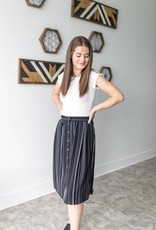 Straight Walker Midi Skirt