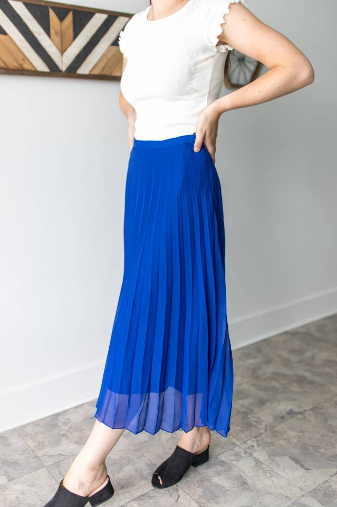 Royalty Pleated Skirt