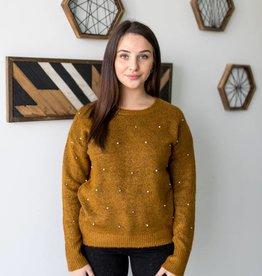 Studs & Pearls Sweater