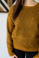 Studs & Pearls Sweater
