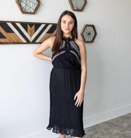 Crown Halter Dress