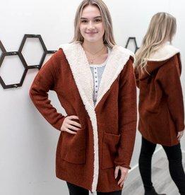 Rusty Sherpa Sweater
