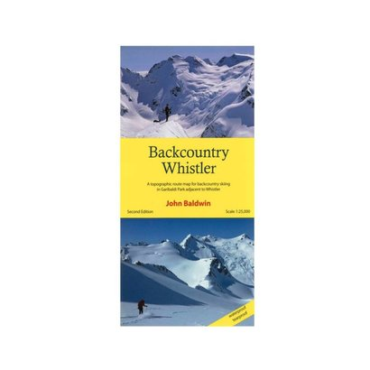 John Baldwin Backcountry Whistler Map