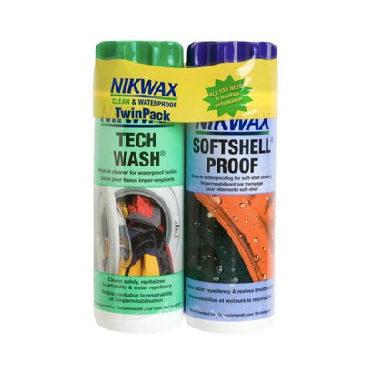 Nikwax Softshell DuoPack 300mL