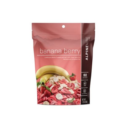 AlpineAire Foods Banana Berry Dried Fruit