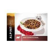 AlpineAire Foods Beef and Rice Burrito Bowl