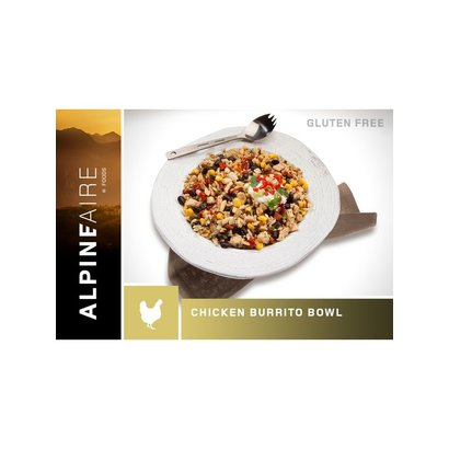 AlpineAire Foods Chicken and Rice Burrito Bowl