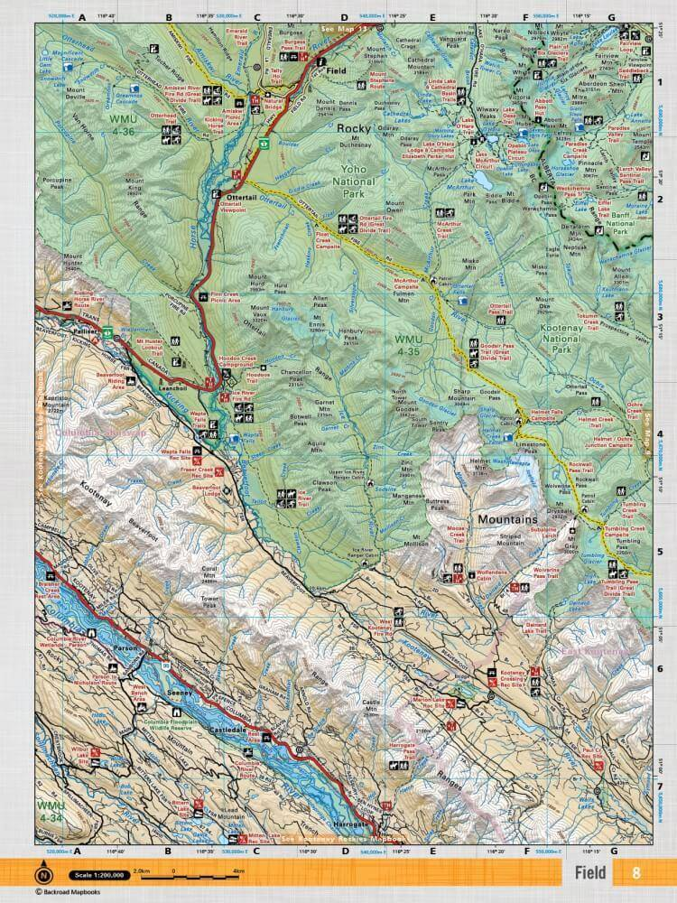 Backroad mapbooks canadian rockies 3rd edition shop climb on backroad mapbooks canadian rockies spiral 3rd edition gumiabroncs Gallery