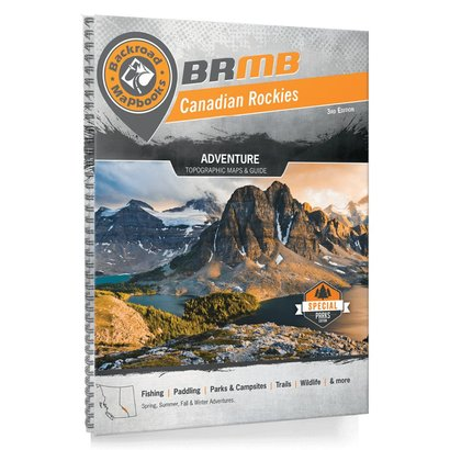 Backroad Mapbooks Canadian Rockies Spiral (3rd Edition)