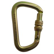 GrandWall Equipment Zion Screwgate Steel Carabiner
