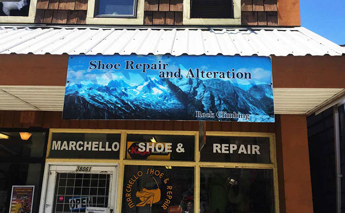 Marchello's Shoe Repair - Squamish