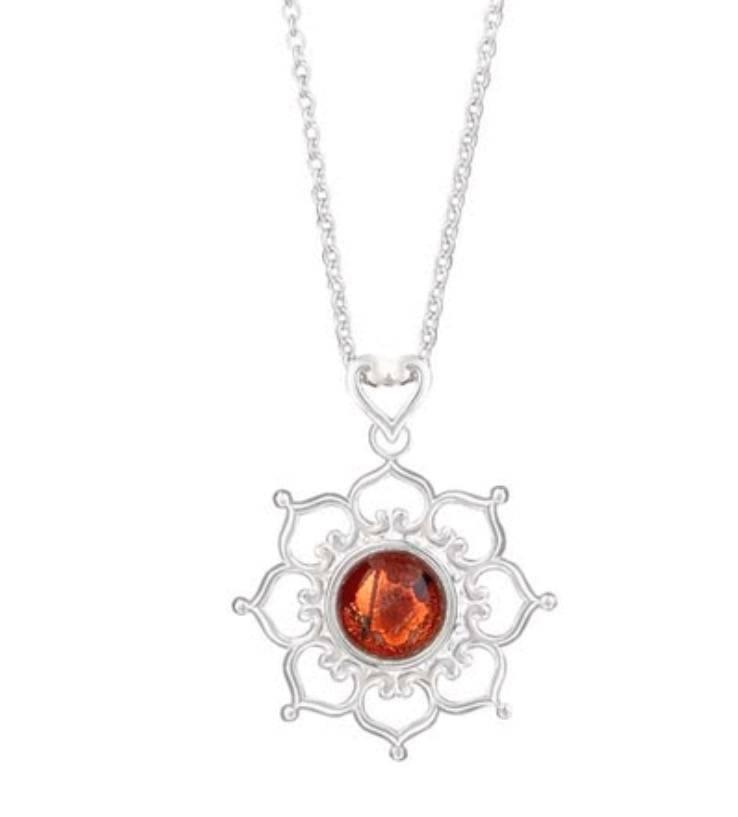 Kameleon Jewelry Kameleon Pendant - Lotus Flower - KP004