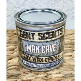 Gent Scents Soy Wax Candles Man Cave - Gent Scents Soy Wax Candle