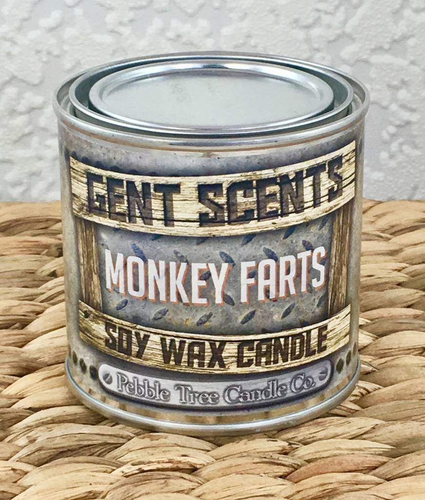 Monkey Farts - Gent Scents Soy Wax Candle
