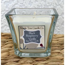 Pebble Tree Candle Co. Black Raspberry Vanilla - Soy Wax Candle - 5oz Flare