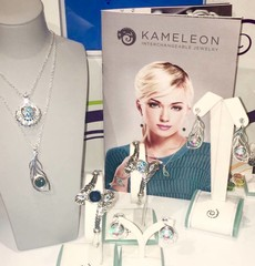 Kameleon sterling silver interchangeable jewelry