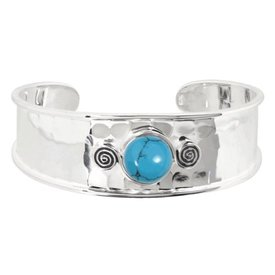 Kameleon Jewelry Hammered Cuff - Kameleon Bracelet - KBR001