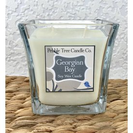 Pebble Tree Candle Co. Georgian Bay - Soy Wax Candle - 15oz Flare