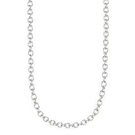 """Kameleon Jewelry Sterling Silver 18"""" Italian Rolo Chain"""