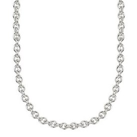 """Kameleon Jewelry Sterling Silver 20"""" Italian Rolo Chain"""