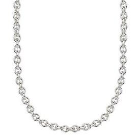 """Kameleon Jewelry Sterling Silver 22"""" Italian Rolo Chain"""
