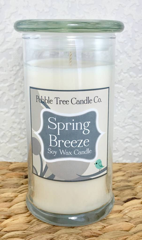 Pebble Tree Candle Co. Spring Breeze - Soy Wax Candle - 21oz Status