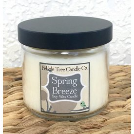 Pebble Tree Candle Co. Spring Breeze - Soy Wax Candle - 6oz Round
