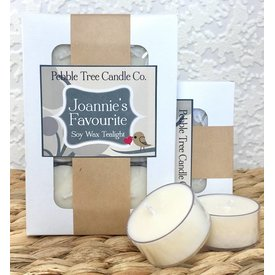 Joannie's Favourite - Soy Wax Tealight - Package of 6