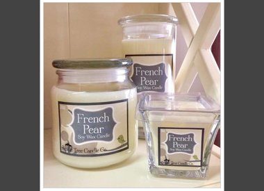 Pebble Tree Soy Wax Candles