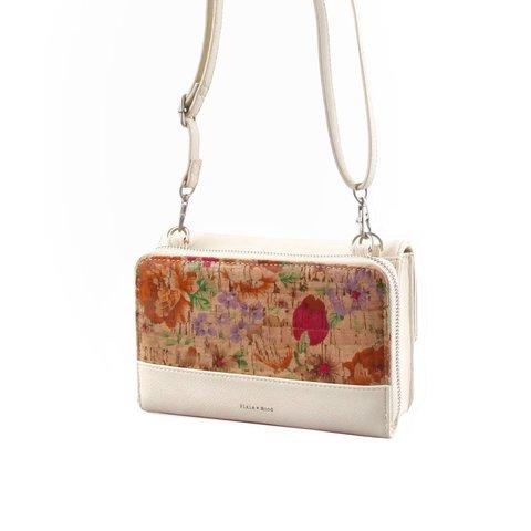 Jane Wallet Crossbody - Light Floral - JAN-S17-LFLO