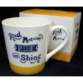 Home Decor Good Morning Rise and Shine Mug