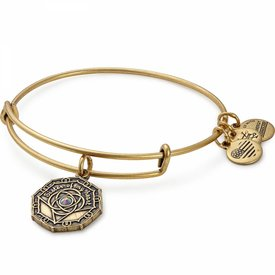 Bridesmaid Charm Bangle - Rafaelian Gold - A17EBBMRG
