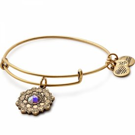 Mother of the Bride Charm Bangle - Rafaelian Gold - A17EBMOBRG