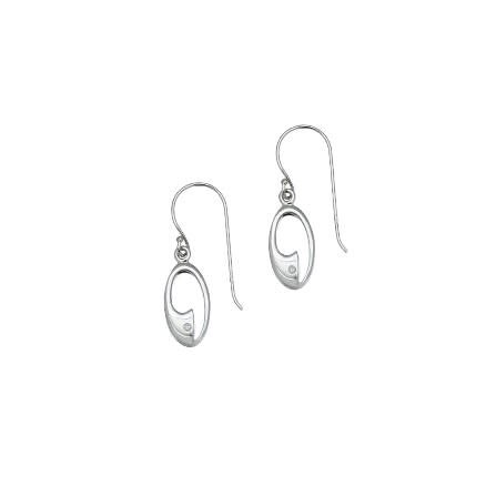 ICE 925 ICE 925 Earring Set - Wave - IE001