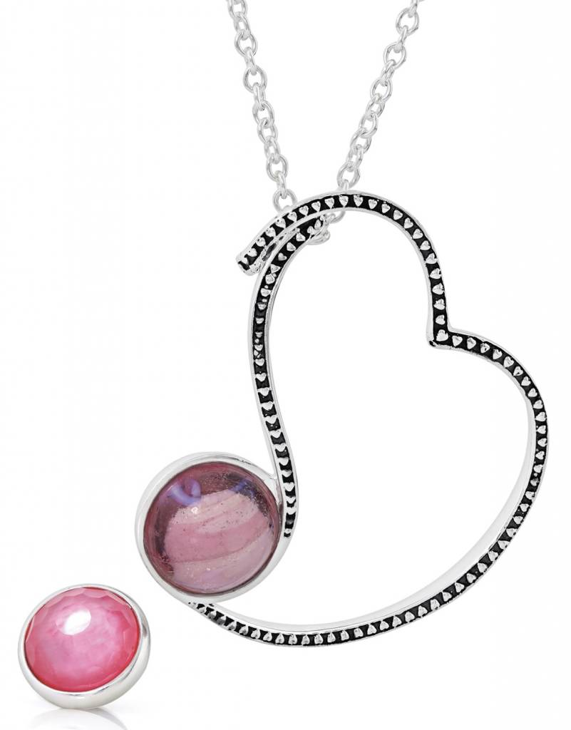 Kameleon Jewelry Kameleon Jewelry - Oh La La Gift Set - Pendant and Two Jewel Pops