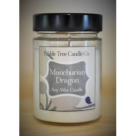 Pebble Tree Candle Co. Manchurian Dragon Soy Wax Candle - Classic