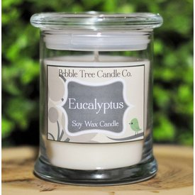 Pebble Tree Candle Co. Eucalyptus Soy Wax Candle - 12oz Status