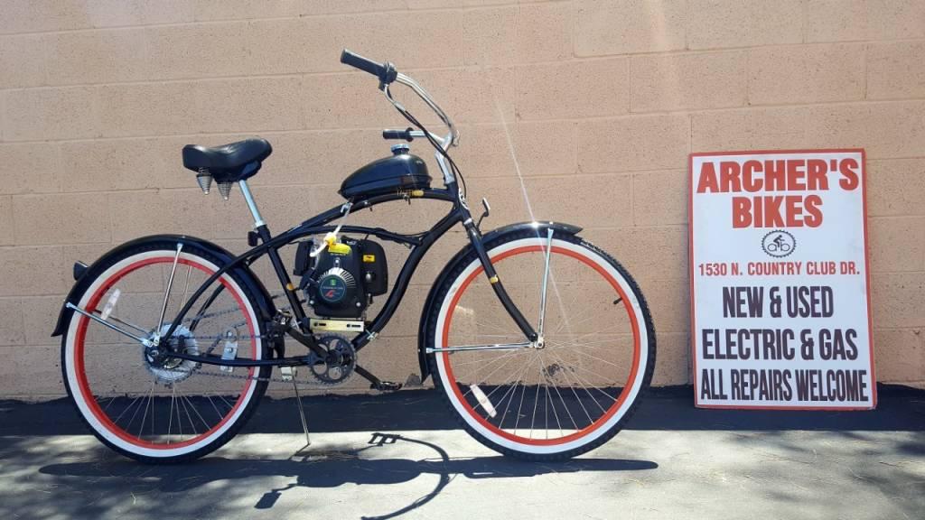 Micargi 4-stroke gas bike conversion