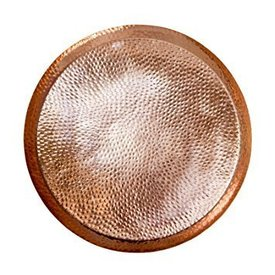 Hammered Copper Serving Tray