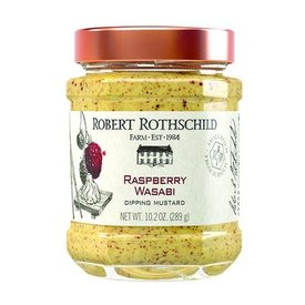 Raspberry Wasabi Dipping Mustard