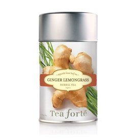 Tea Forte Loose Tea Canister, Ginger Lemongrass