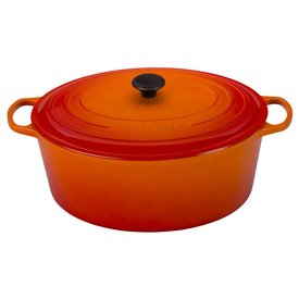 Le Creuset 15.5 Qt. Oval Dutch Oven, Flame